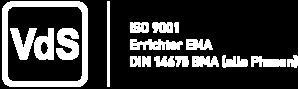VdS Siegel EMA-Facherrichter DIN 14675 ISO 9001