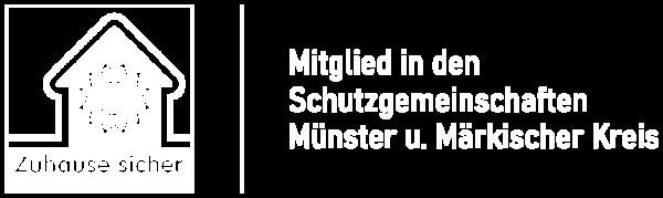 Siegel Mitglied der Schutzgemeinschaften Münster und Märkischer Kreis